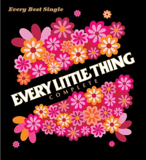 「Every Best Single~COMPLETE~」初回限定盤ジャケット。CD50曲、DVD39曲、延べ89曲が収録された文字どおりのコンプリートベストアルバムだ。