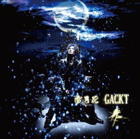 シングルリリースに先駆け、レコチョクでは収録曲2曲の着うたフル音源が配信中(写真はシングル「雪月花-The end of silence-/斬 ~ZAN~」通常盤ジャケット)。