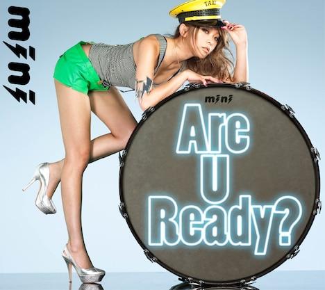 シングル「Are U Ready?」DVD付き仕様のジャケット。