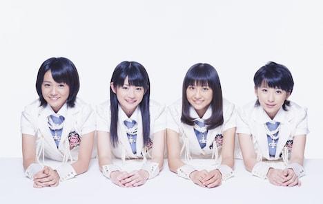 5月26日にシングル「夢見る 15歳」でメジャーデビューを果たすスマイレージ。