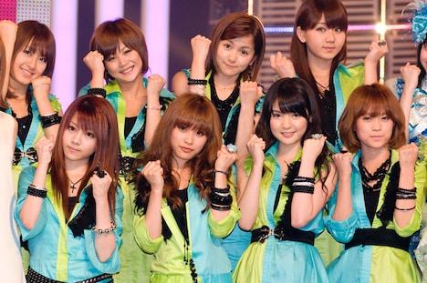 ミュージカル出演も控えたモーニング娘。は、6月9日リリースの新曲「青春コレクション」を熱唱した。