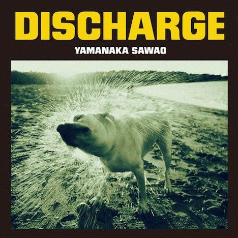 「DISCHARGE」のジャケットは、水しぶきをまき散らして体を震わせる犬の写真が目印。