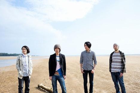 志村正彦(写真左から2番目)在りし日のフジファブリック。