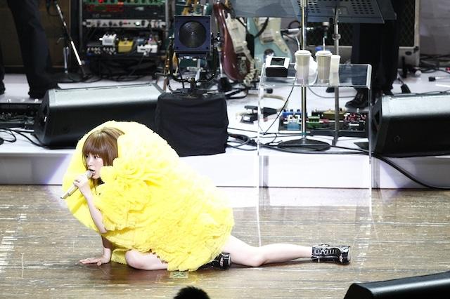 """写真は「YUKI LIVE """"The Present""""」の模様。"""