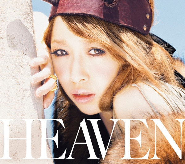 「HEAVEN」初回限定盤ジャケット写真。初回限定盤はビデオクリップやライブ映像を収録したDVD付き。