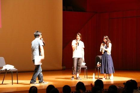 東京・杉並公会堂大ホールで発売記念イベントで行われたCD発売記念イベントの模様。