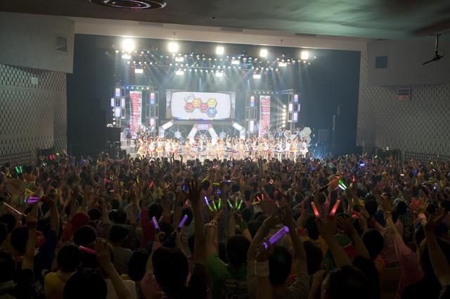 リクエストによって選ばれた人気曲の連発に、渋谷C.C.Lemonホールのファンは大盛り上がり。