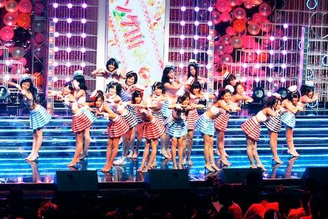 アイドリング!!!は8日公演のみ、外岡えりかが参加。20人のフルメンバーで「TOKYO IDOL FESTIVAL 2010」のエンディングを盛り上げた。