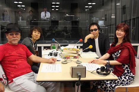 写真は「坂崎幸之助と吉田拓郎のオールナイトニッポンGOLD」10月18日放送分収録時の様子。番組は毎週月曜22:00よりオンエア。