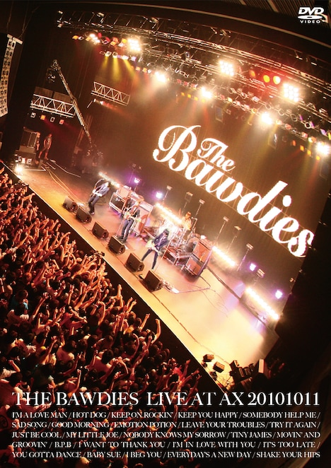 写真はライブDVD「LIVE AT AX 20101011」ジャケット。
