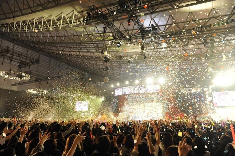 "「20th L'Anniversary Starting Live ""L'A HAPPY NEW YEAR!""」の模様。"