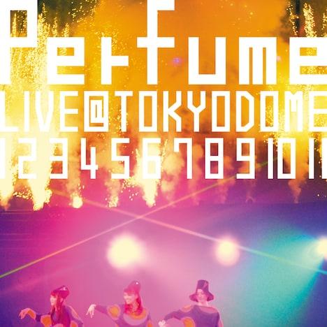 写真はライブDVD「結成10周年、メジャーデビュー5周年記念!Perfume LIVE @東京ドーム「1 2 3 4 5 6 7 8 9 10 11」」初回限定盤ジャケット。Perfumeのオフィシャルサイトでは予約者特典ポスターのデザインが公開されている。