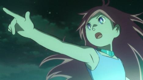 ストーリーの鍵を握る美少女ロボット・リルル。(C)藤子プロ・小学館・テレビ朝日・シンエイ・ADK 2011