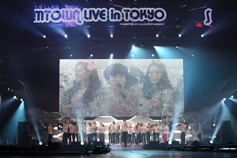 「SMTOWN LIVE in TOKYO」の様子。