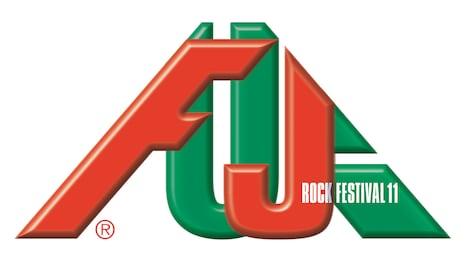 「FUJI ROCK FESTIVAL '11」ロゴ