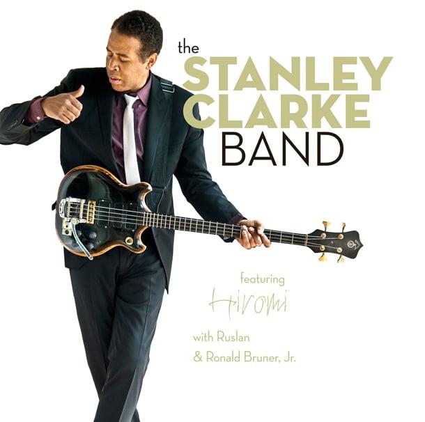 写真はグラミー賞受賞アルバム「スタンリー・クラーク・バンド フィーチャリング 上原ひろみ」ジャケット。