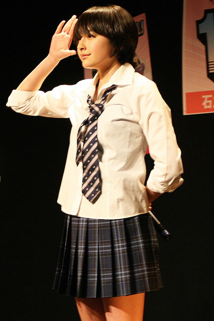 早見あかり(写真は3月27日「石丸最後のステージ!~今までありがとうございました~140(イシマル) LIVE FINAL!」より)
