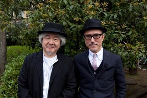THE BEATNIKSの鈴木慶一と高橋幸宏(写真左から)。