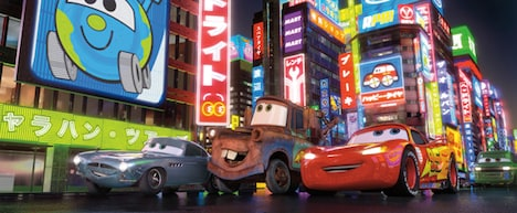 映画「カーズ2」のワンシーン (C) Disney/Pixar. All Rights Reserved.