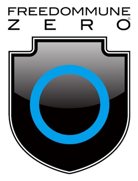 「FREEDOMMUNE 0<ZERO>」ロゴ