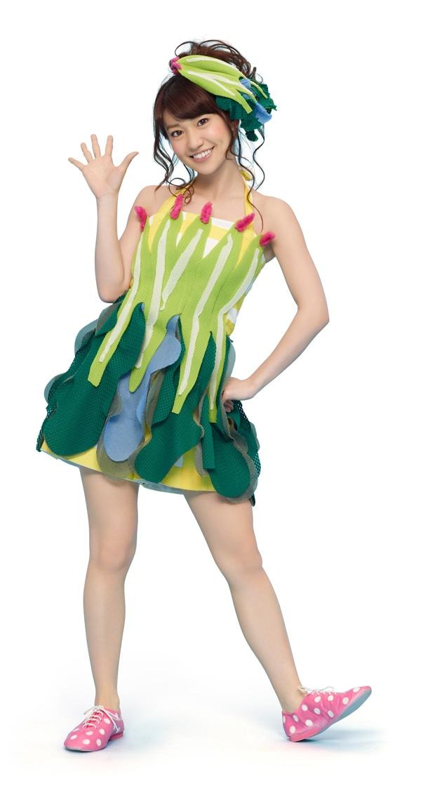 AKB48 大島優子(ほうれん草)