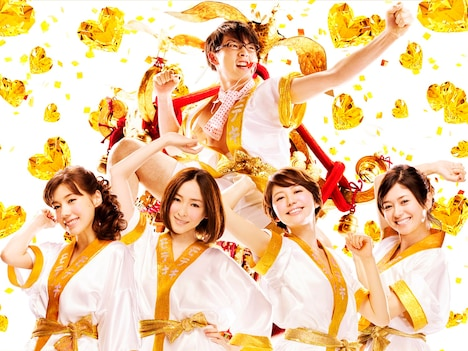 映画「モテキ」キービジュアル (c)2011映画「モテキ」製作委員会
