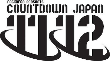 「COUNTDOWN JAPAN 11/12」ロゴ