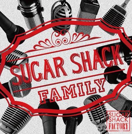 アルバム「SUGAR SHACK FACTORY」ジャケット
