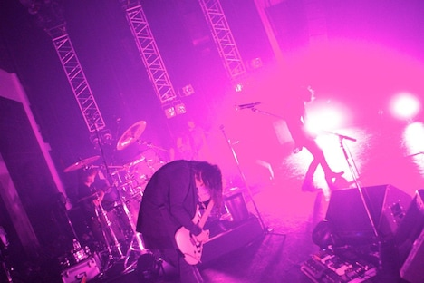 「acid android live 2011」の様子(写真:石井亜希)。