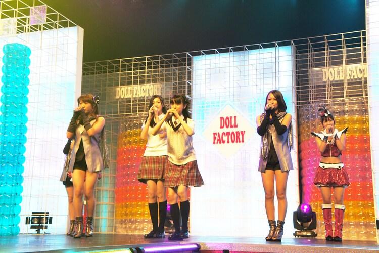 シャッフルユニット(写真は8月28日のDOLL FACTORY「Dream Unit LIVE」より)