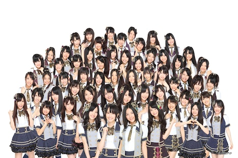 2011年9月1日現在、SKE48にはチームS、チームKII、チームE、研究生の計57名が在籍。 (C)AKS/PYP