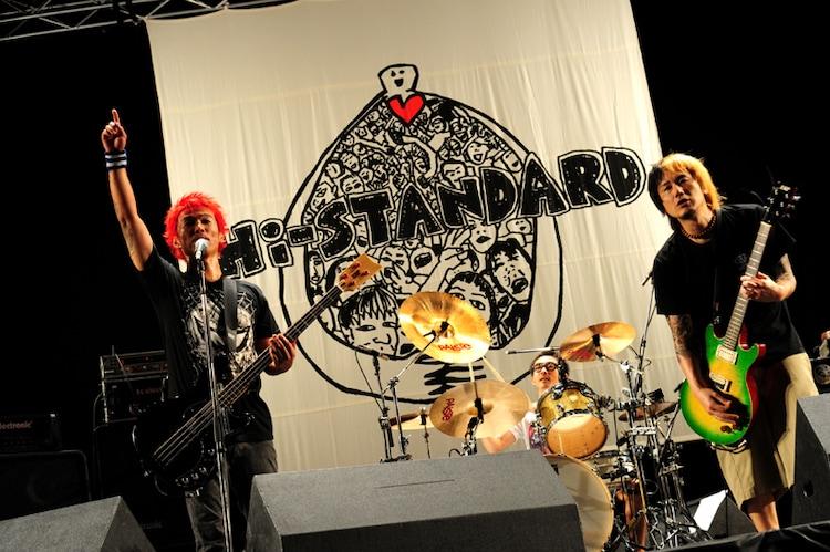 Hi-STANDARD(写真:TEPPEI) (C)AIR JAM 2011