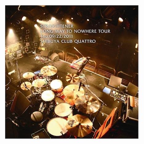 ライブDVD「LONG WAY TO NOWHERE TOUR Thu, 09/22/2011 SHIBUYA CLUB QUATTRO」ジャケット