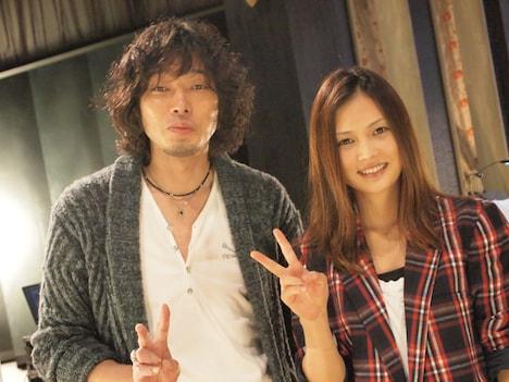YUIと斉藤和義。