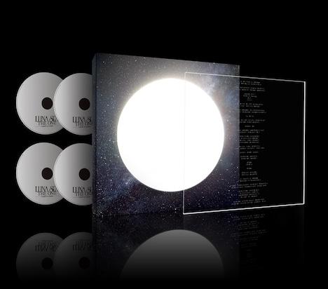 シングル「THE ONE -crash to create-」アナログ盤サイズPREMIUM PACKAGEの全容。