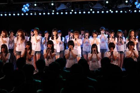 東京・AKB48劇場での公演の様子。