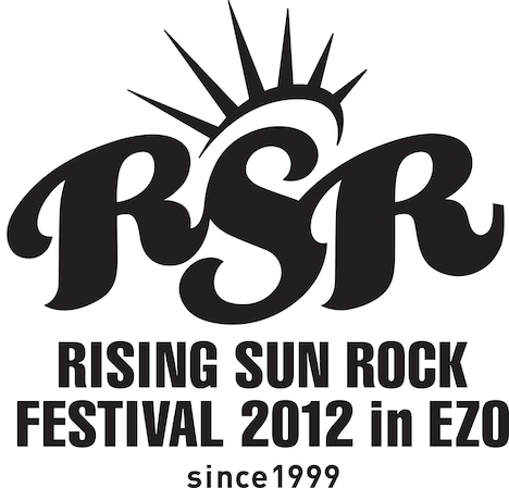 「RISING SUN ROCK FESTIVAL 2012 in EZO」ロゴ