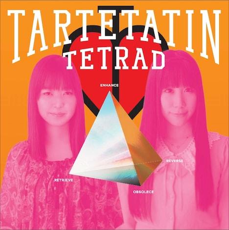タルトタタンの1stアルバム「テトラッド」ジャケット