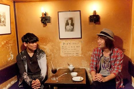 山口一郎(写真左)と茂木欣一(右)。