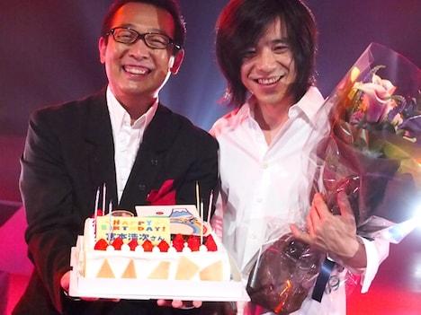 番組収録当日6月12日は宮本浩次の誕生日で、現場ではバースデーケーキと花束が贈られた。
