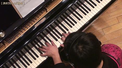 「坂道のアポロン」の演奏シーンは、各プレイヤーの演奏が忠実に再現されている。写真は松永貴志によるピアノプレイ。(C)小玉ユキ・小学館 /「坂道のアポロン」製作委員会
