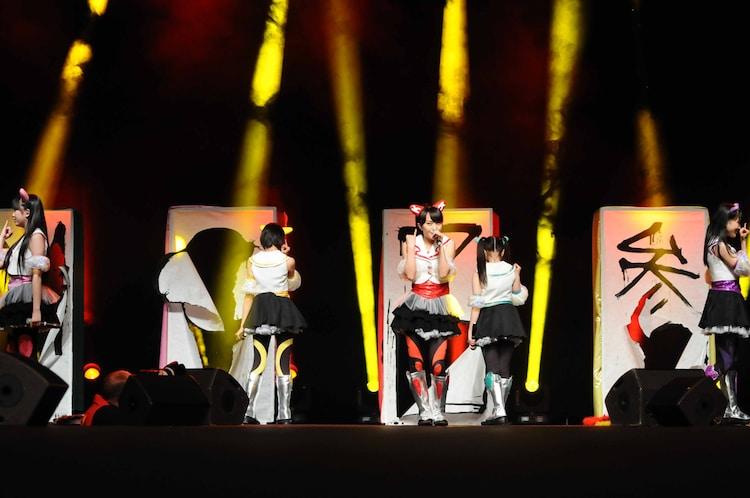 写真は「JAPAN EXPO 2012」ライブ1本目の様子。
