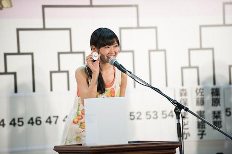 チームBと兼務する渡辺美優紀(NMB48チームN)は、2回戦から大会に参加。 (C)AKS