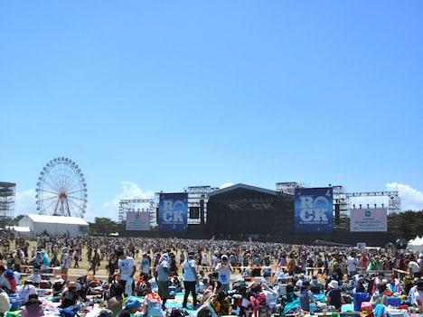 3日間快晴に恵まれた「ROCK IN JAPAN FESTIVAL 2012」の様子。