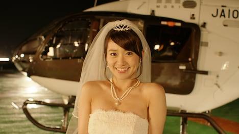 「AKB1/153 恋愛総選挙」より、大島優子の告白シーン。