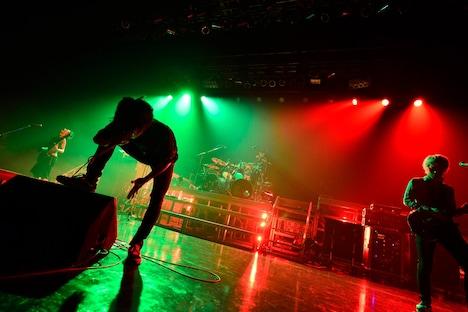 "「ONE OK ROCK 2012 ""The Beginning"" TOUR」Zepp Nagoya公演の様子。"