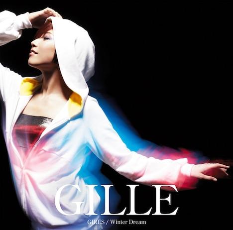 GILLE「GIRLS / Winter Dream」初回限定盤ジャケット