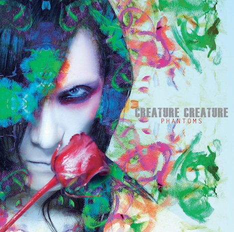 Creature Creature「PHANTOMS」通常盤ジャケット