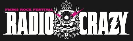 「RADIO CRAZY」ロゴ