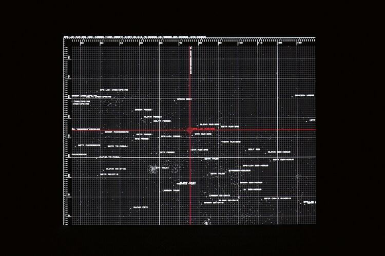 「datamatics [ver.2.0]」の映像の一部。